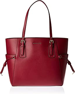 حقيبة توت كبيرة اي دبليو للنساء من مايكل كورس، لون ارجواني داكن - 30H7GV6T9L