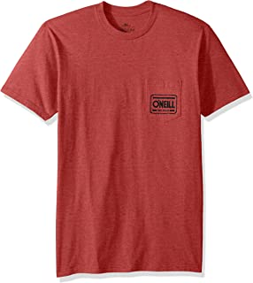 O'NEILL Men's Standard Fit Front and Back Logo T-Shirt