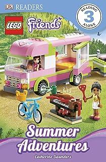 DK Readers L3: LEGO Friends: Summer Adventures (DK Readers Level 3)