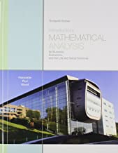Introductory Mathematical Analysis for Business, Economics, and the Life and Social Sciences Plus MML and Sticker (13th Edition)