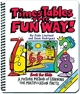 Times Tables the Fun Way Book for Kids: A Picture Method of Learning the Multiplication