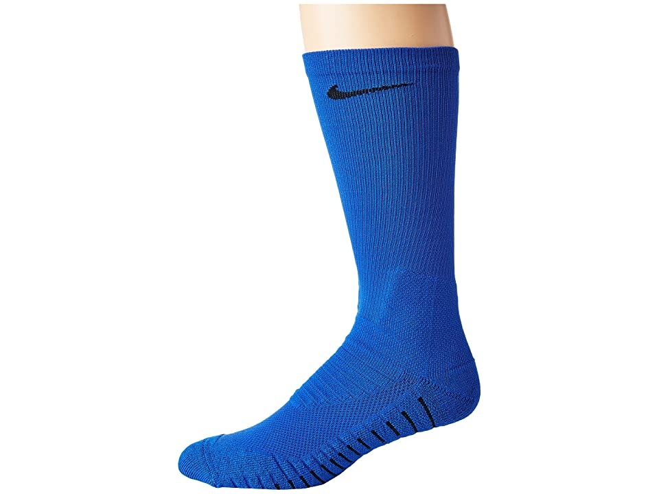 Nike VPR Crew Sock (Game Royal/Black) Crew Cut Socks Shoes