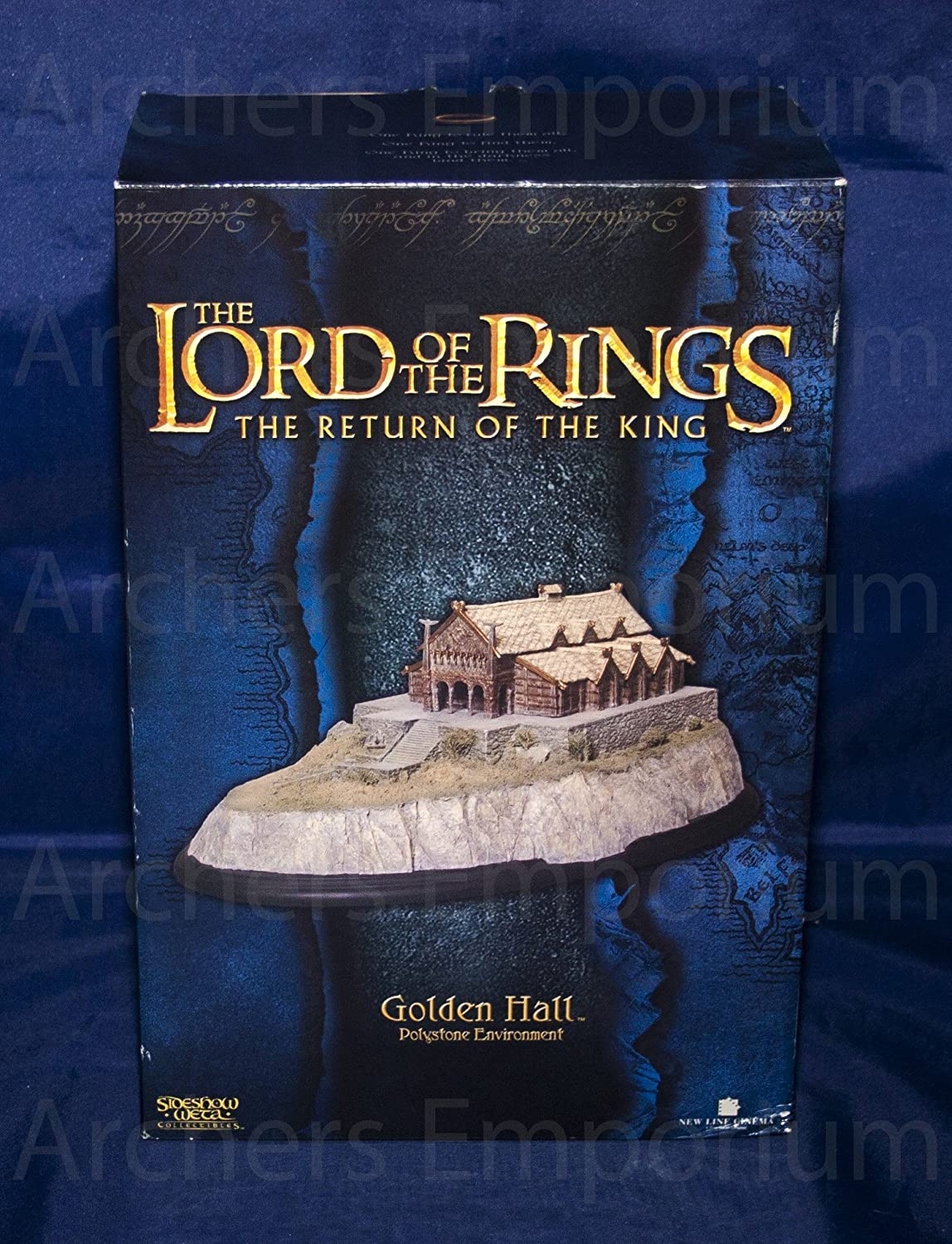 Sideshow Weta Herr der Ringe Golden Hall Lord of the Rings