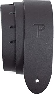 """Perri's Leathers Ltd. - Guitar Strap - Basic Leather - Black - 2"""" inches Wide - Adjustable - For Acoustic/Bass/Electric Gu..."""