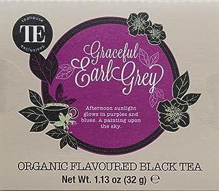 TE - Teahouse Exclusives Organic Tea Graceful Earl Grey 16 Beutel, 2er Pack 2 x 32 g