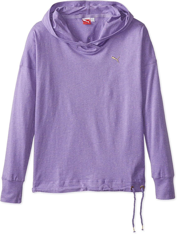 PUMA Women's Core Lightweight Coverup, Dahlia Purple, X-Small