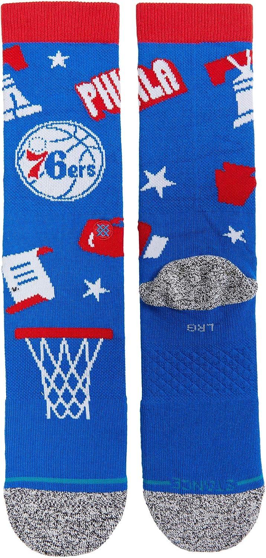 Stance NBA Philadelphia 76ers Landmark Crew