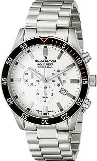 Men's 10223 3NOM AO Aquarider Analog Display Swiss Quartz Silver Watch