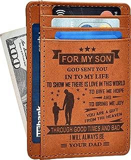 Best black engraved wallet Reviews