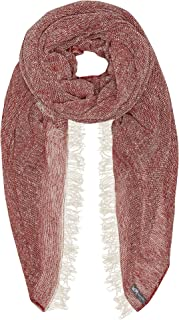 Waverley Mills Women's Hinsbyscarfred, Red, One size
