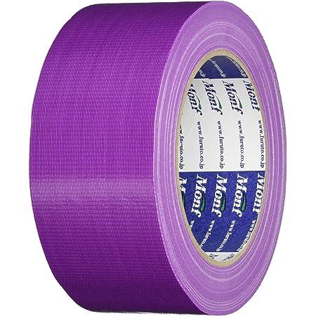 古藤工業 Monf No.890 カラー布粘着テープ グレープ 厚0.22mm×幅50mm×長さ25m