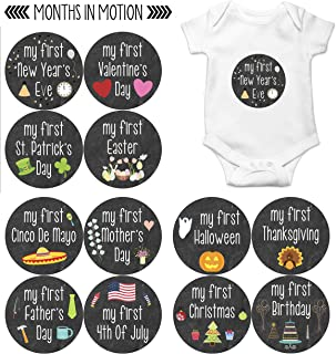 Best baby monthly birthday stickers Reviews