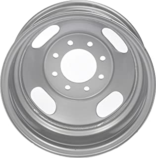 Dorman Black Wheel with Painted Finish (16 x 6.5 inches /8 x 6 inches, 128 mm Offset)