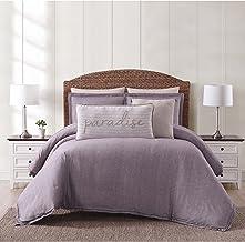 Oceanfront Resort CS2364PLTX-1500 Twin XL 2 Piece Comforter Set, Plum