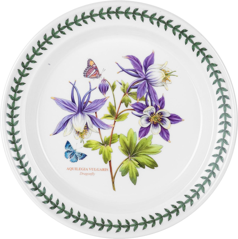 Portmeirion Exotic Botanic Garden Dinner Plate with Dragonfly Motif