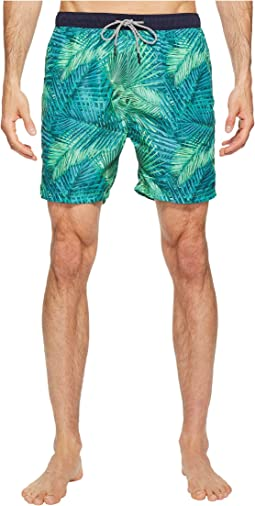1348b74718 Medium Length Swim Shorts in Fine Peached Quality with Pattern. Like 1.  Scotch & Soda