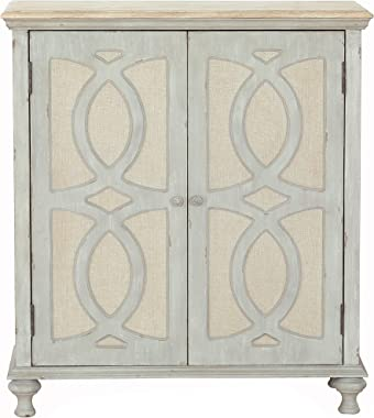 Right2Home Two Door Accent, Weathered Gray Storage Chest
