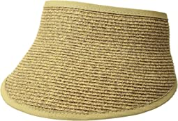 San Diego Hat Company UBV043 Sport Visor with A Stretch Band Closure