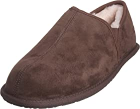 wool scuff slippers