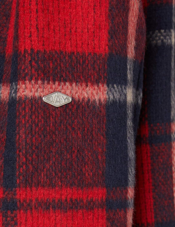 Superdry Heritage Brushed Wool Shirt Chaqueta para Mujer