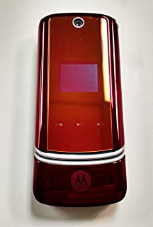 Verizon or PagePlus Motorola KRZR K1m 3G MP3 Bluetooth Red Cell Phone