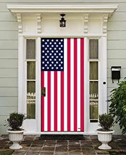 Victory Corps USA Flag - Patriotic Front Door Banner Mural Sign Décor 36