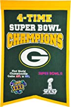NFL Green Bay Packers Super Bowl Champions Banner