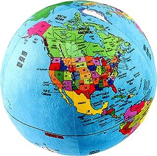 Best world globe pillow Reviews