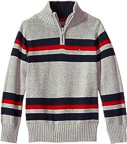 Tommy Hilfiger Kids - Leon 1/2 Zip Sweater (Big Kids)