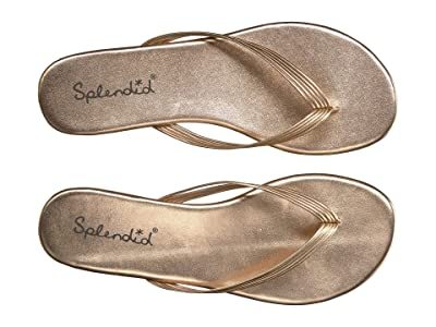 Splendid Shyanne (Rose Gold Metallic Sheep Nappa Leather) Women