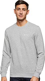 CHAMPION Men's Sweatshirt, Grey, Large
