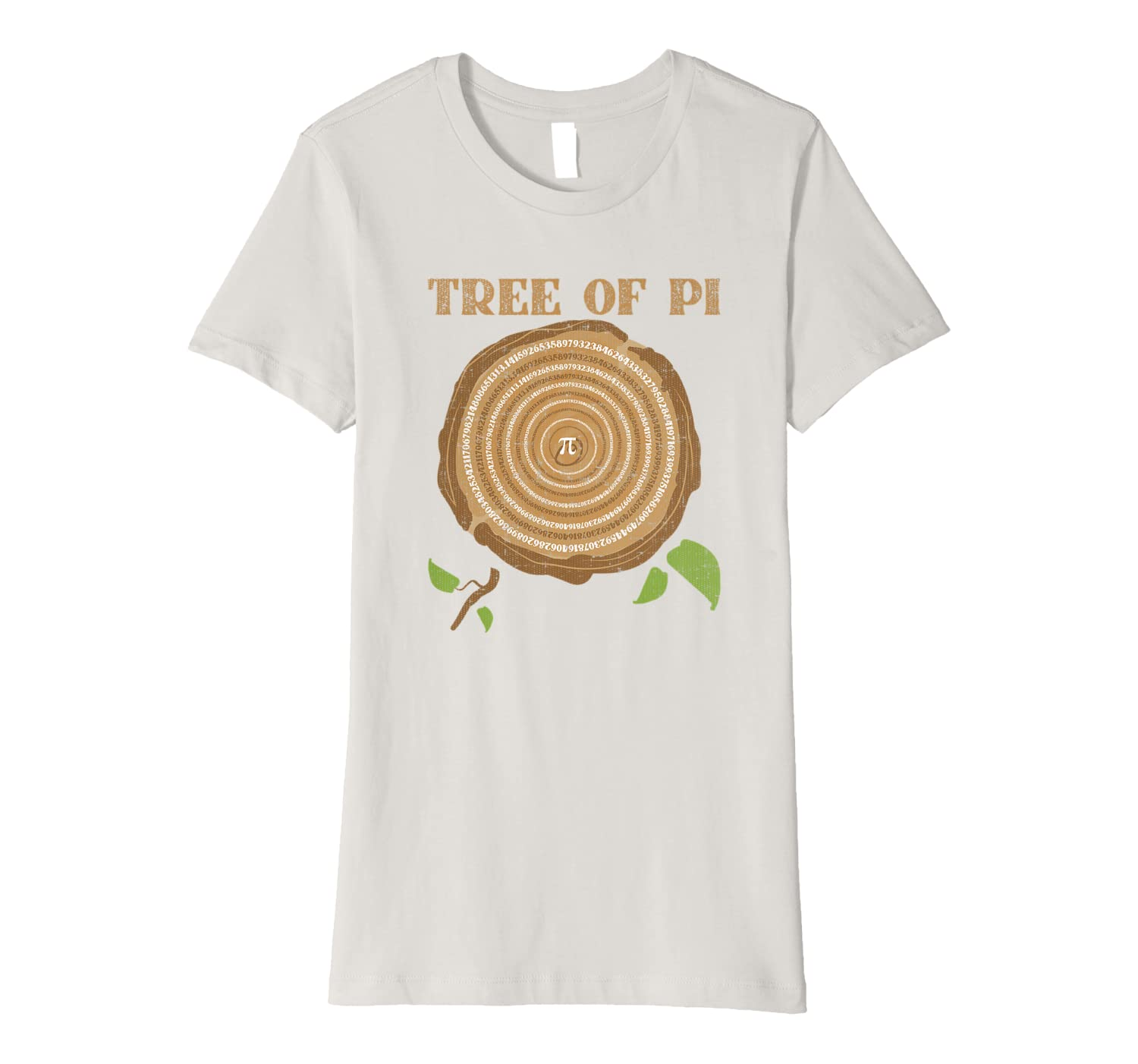 Tree of PI Math Geek Humor PI Day Gift Premium T-Shirt