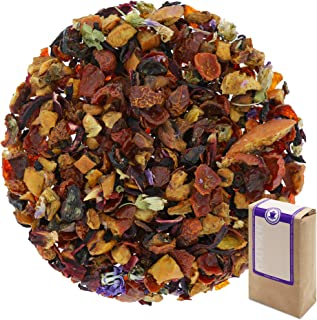 "Núm. 1378: Té de frutas ""Selva"" - hojas sueltas - 250 g - GAIWAN® GERMANY - manzana, rosa mosqueta, hibisco, malva"