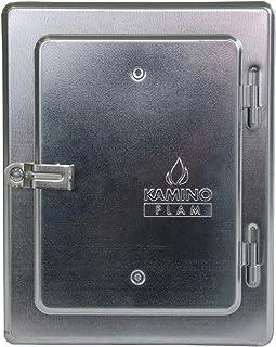Kamino-Flam 331530 Puerta Revisión de Chimenea, Metal,