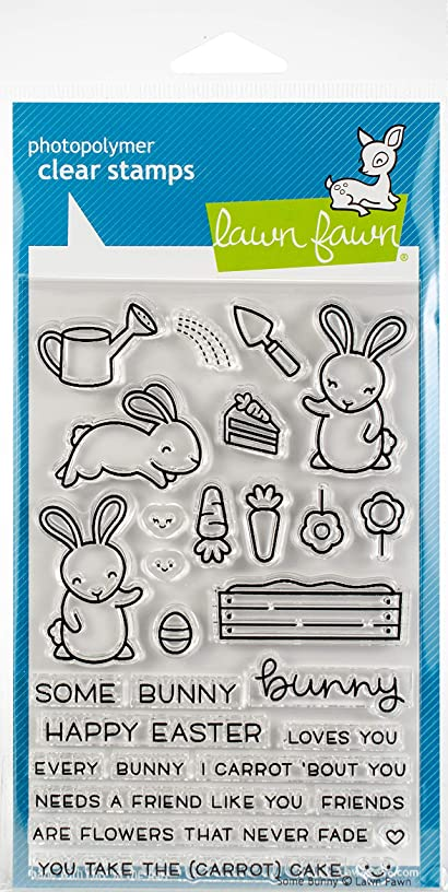Lawn Fawn Clear Stamps LF1587 Some Bunny