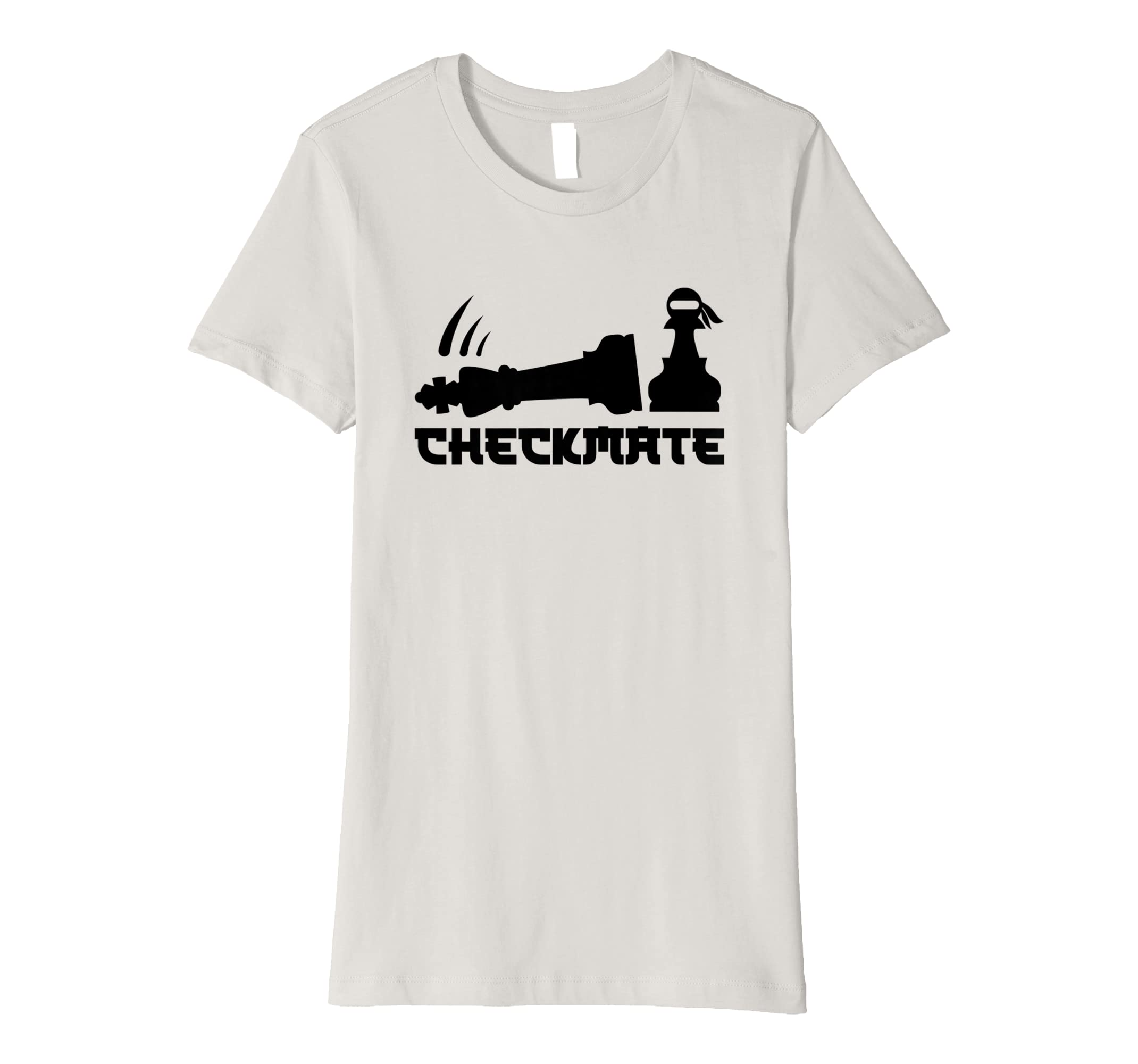 Chess Ninja Master Checkmate Funny Design Gift T Shirt Scooter Tow Harness Clothing