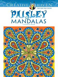 Creative Haven Paisley Mandala Coloring Book