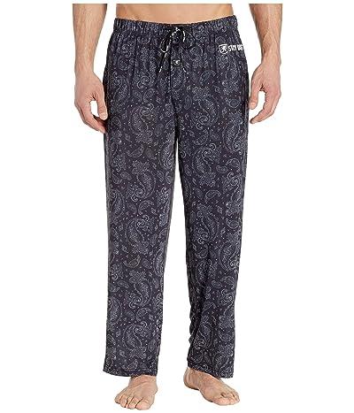 Stacy Adams Regular Sleep Pants (Black Paisley Camo) Men