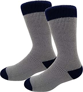 Men & Women Winter Thermal Socks Extreme Warm Cold Weather Thick Boot Socks 2 Pack Plus Size