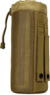 ArcEnCiel Molle Water Bottle Pouch Tactical Military Mesh Kettle Set Holder Hydration Bag Carrier Pocket for Camping Climbing Cycling Hiking Travelling