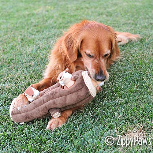 ZippyPaws Woodland Friends Interactive Dog Toy