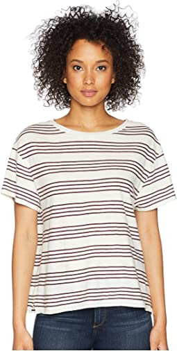 Soft Stripe Cotton Tee