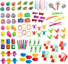 Neliblu Bulk Party Favor Pinata Toy Assortment Pack of 101 Pc, Mid-Sized and Small Toys, Easter Egg Fillers, Pinata Filler, Prizes for Party Favor Bags, School Classrooms, a Treasure Chest Box Toys
