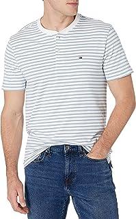 Men's Short Sleeve Henley Shirt in Custom Fit