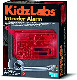 Young Inventor Kidz Labs Spy Science Intruder Alarm Kids Children Girls Boys Secret Agent Set Xmas Gift Fun Toys & Games Idea Age 8+