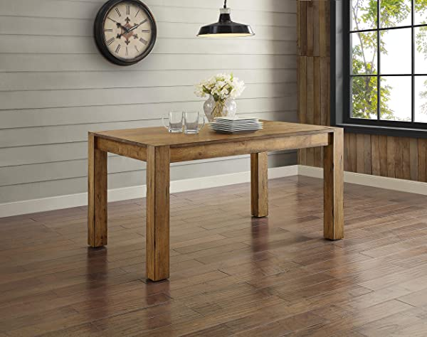 Better Homes Gardens Bryant Dining Table Rustic Brown