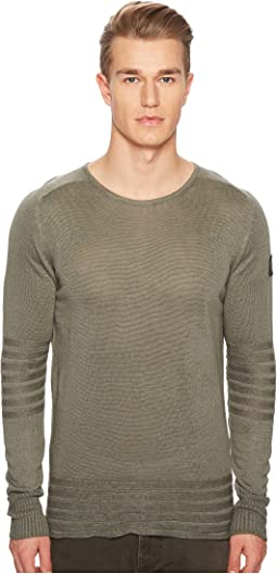 BELSTAFF - Exford Fine Gauge Linen Sweater