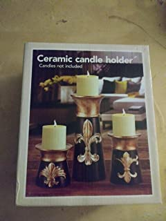 Midwood Brands, LLC Ceramic Candle Holders