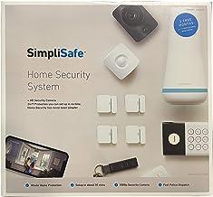 SimpliSafe 10 Piece DIY Home Security Kit- w SimpliCam- Alexa and Google Compatible