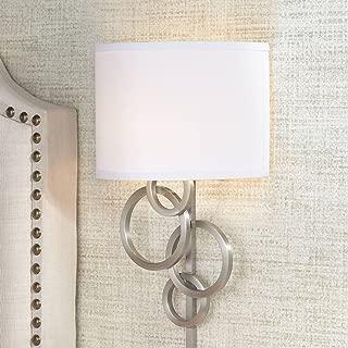 Possini Euro Design Circles Plug-in Wall Sconce - Possini Euro Design